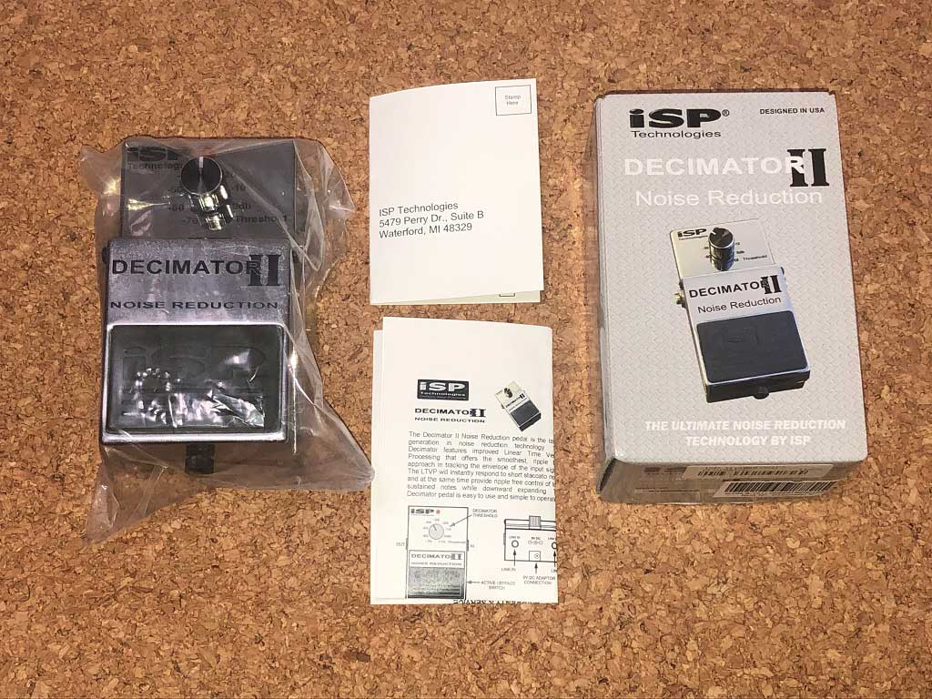 iSP Technologies DECIMATOR Ⅱ